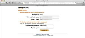 step to create a amazon afiliate id