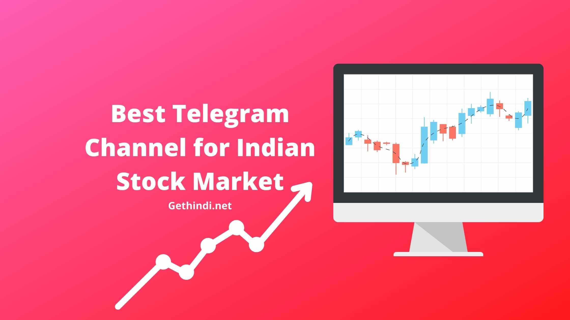 Best Telegram Channel for Indian Stock Market