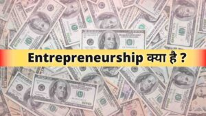 What is Entrepreneurship, entrepreneurship meaning in Hindi जानिए हिंदी में
