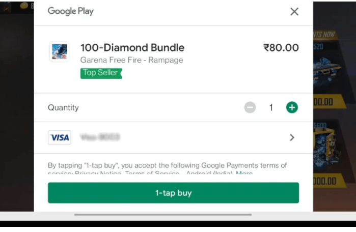 google pay payment option