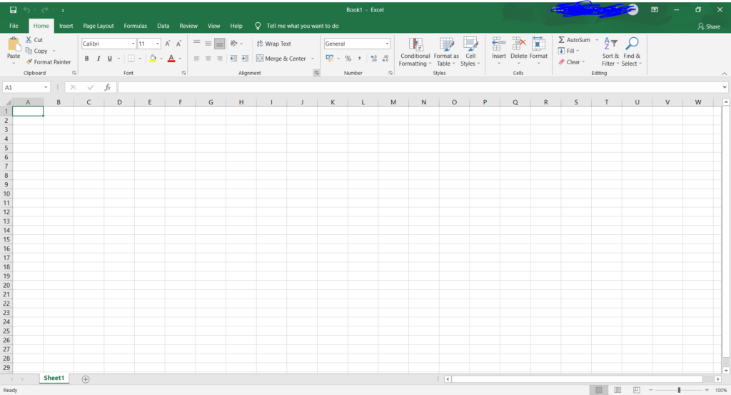 ms excel overview
